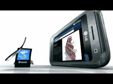 LG Arena KM900 - Film: Phone Features