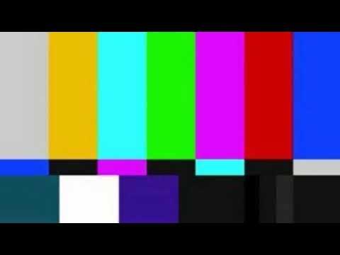Футаж сломанного телевизора