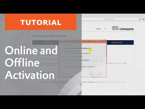 License Manager - Online and Offline Activation - YouTube