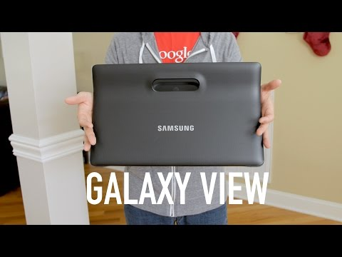 Samsung Galaxy View LTE Review! (vs iPad Pro)