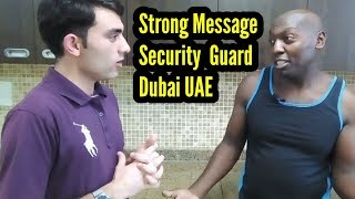 Interview    Security Guards in dubai and UAE