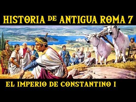 ANTIGUA ROMA 7: La Crisis del Siglo III y el Imperio cristiano de Constantino I el Grande