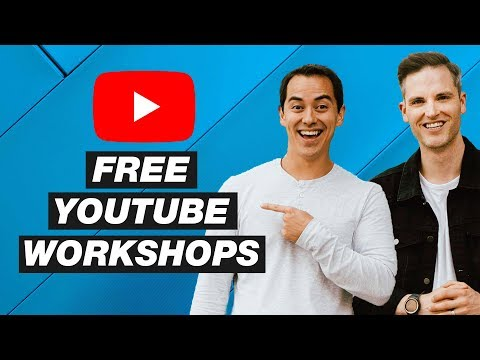Free YouTube Workshops in Seattle, Anaheim, Utah and Las Vegas