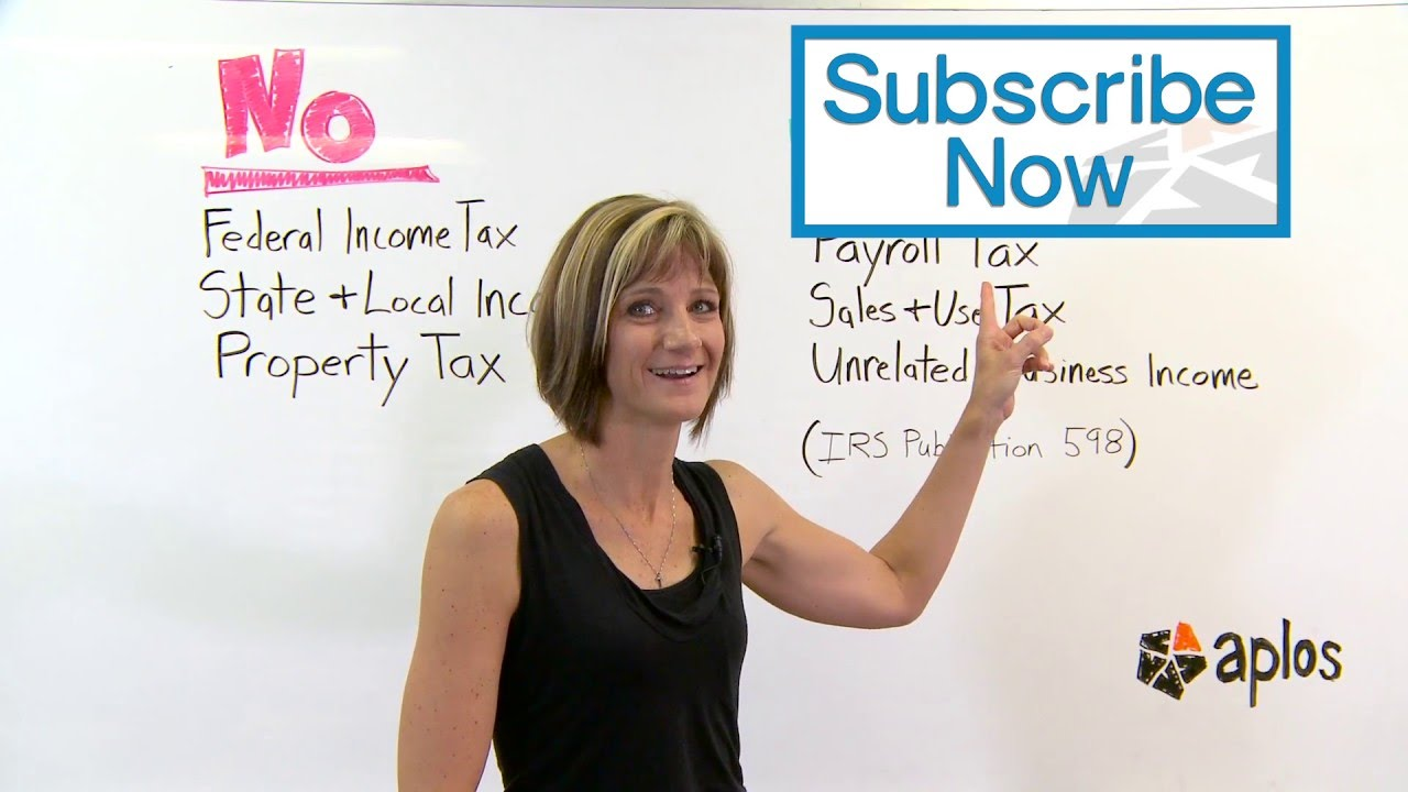 Do Nonprofits Pay Taxes? | Aplos Short