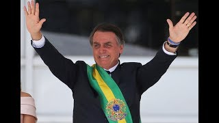 Brazil's controversial new president embraced by Trump administration