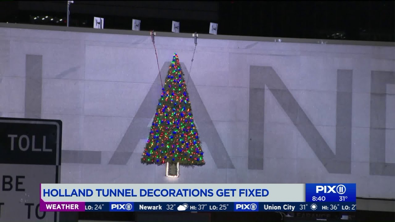 Holland Tunnel Christmas Decorations Petition