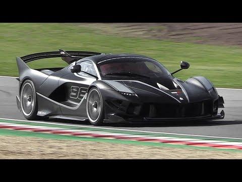 Ferrari FXX K Evo Sound - Start Up, Accelerations & Downshifts at Imola Circuit!