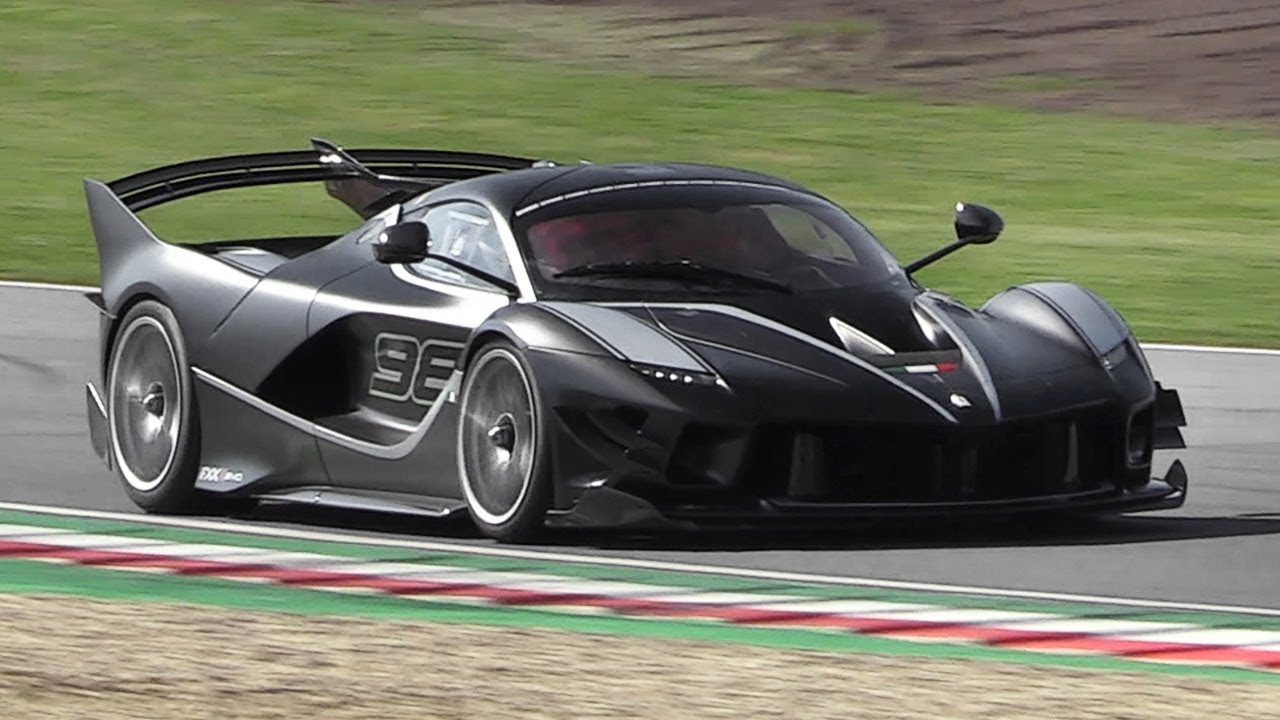 ferrari fxx k evo sound start up accelerations downshifts at imola circuit youtube. Black Bedroom Furniture Sets. Home Design Ideas