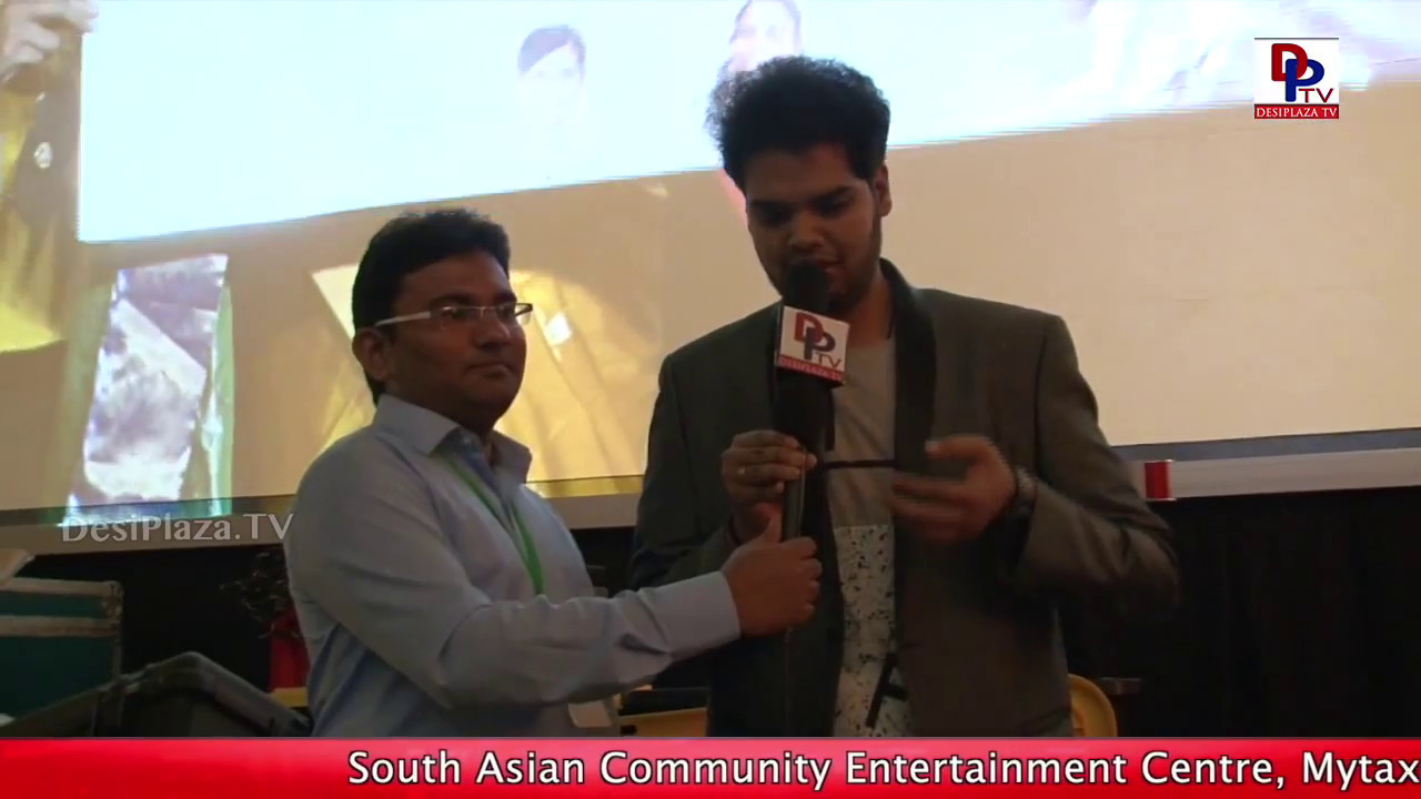 Indian Idol 2nd runner up Rohith, speaking to Desiplaza TV