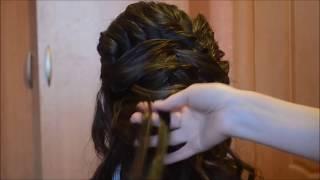 СВАДЕБНАЯ ПРИЧЕСКА ИЗ ЛОКОНов - wedding hairstyle for long hair
