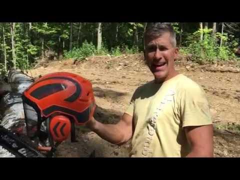 Ultimate Arborist Logging helmet.  Pfanner Protos Helmet!