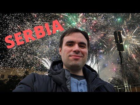 Belgrade: New Year's walk in the Serbian capital