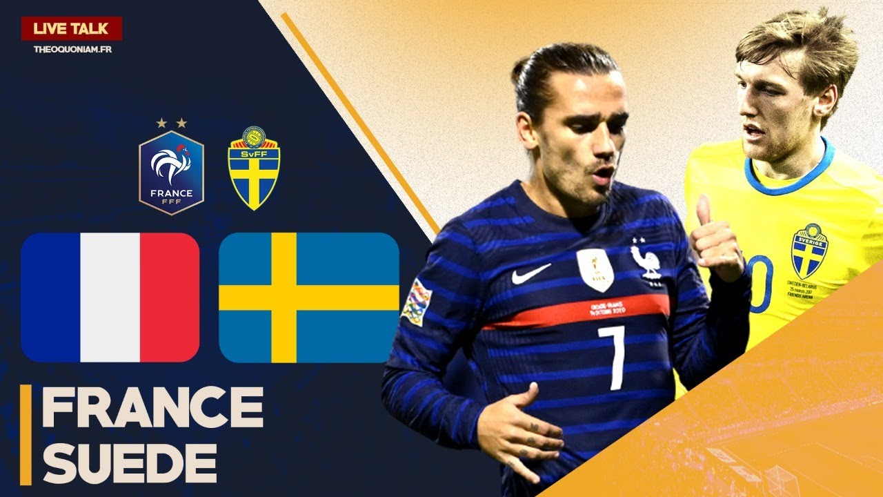 Match Live Direct France Suede Uefa Nation League Footime Youtube