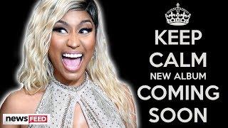 Nicki Minaj Talks UPCOMING ALBUM After Saying She's Retiring!