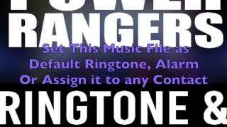 Power Rangers Ringtone and Alert