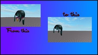 remaking a roblox hat in blender 1