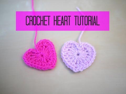 CROCHET heart tutorial | Bella Coco