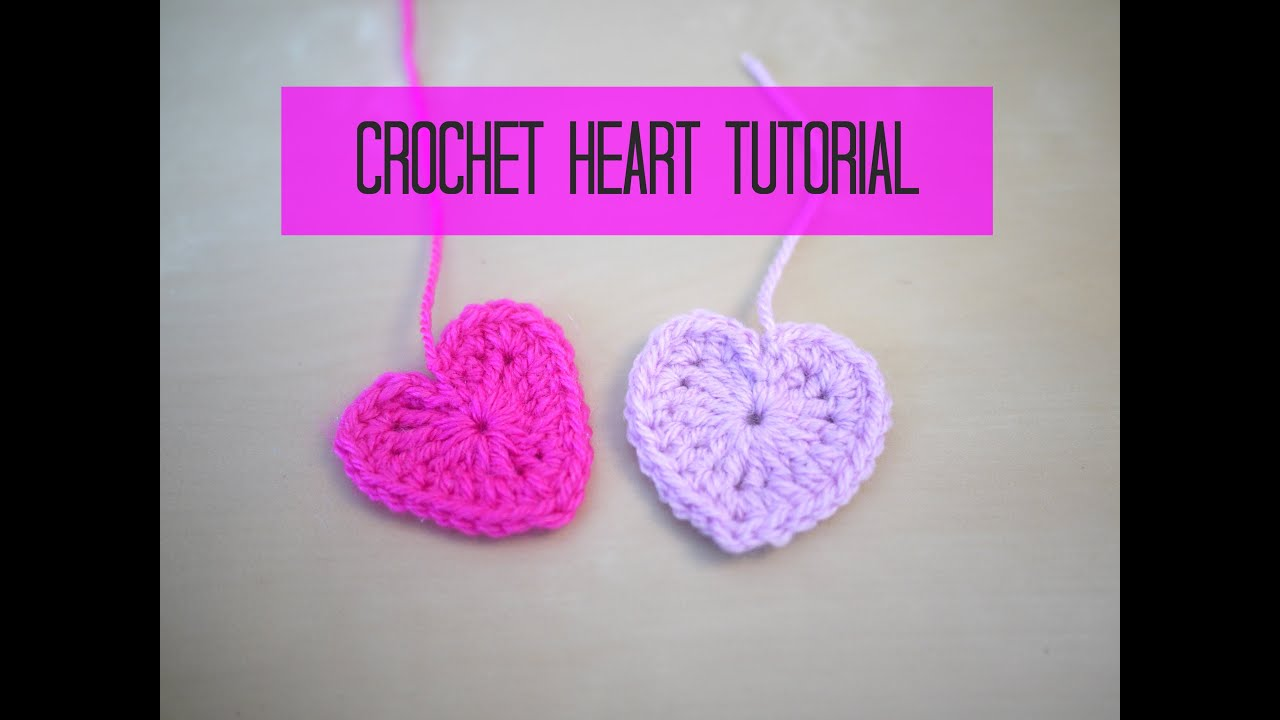 Crochet A Heart : CROCHET heart tutorial Bella Coco - YouTube