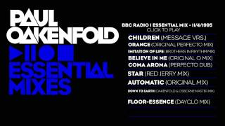 Paul Oakenfold Essential Mix: November 4, 1995