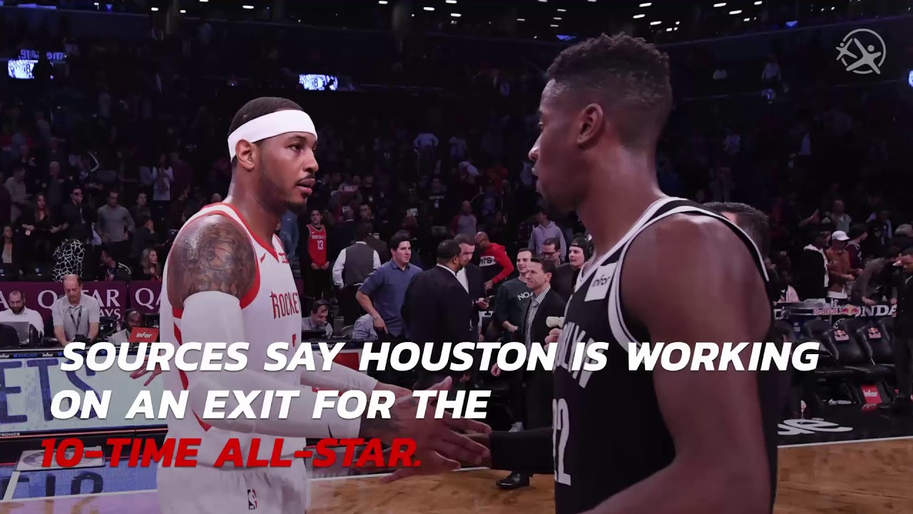 Houston Rockets and Carmelo Anthony Parted Ways