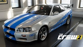 The Crew 2 - Making 2Fast 2Furious Nissan Skyline U4G Customs #27