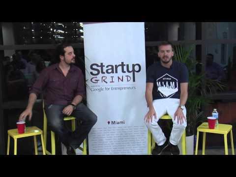 Juan Lopez Salaberry (500 Startups) at Startup Grind Miami