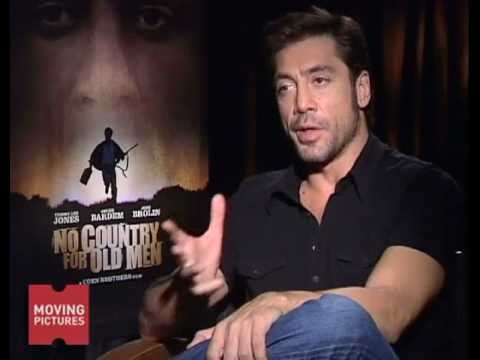 "Javier Bardem on playing a Bad Ass in ""No Country For Old Men"""