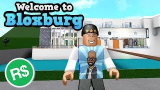$$$ ROBUX GIVEAWAY! AND BLOXBURG HOUSE TOUR! ROBLOX FUN | FAMBAMG GAMING