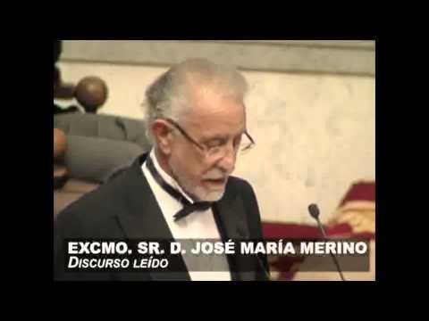Discurso de ingreso en la RAE de José María Merino