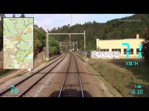 Cabview Brno-Maloměřice - Česká Třebová vj.sk. ČD CARGO Pn 62600 (30.09.2016)