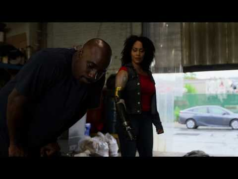 Luke Cage and Misty Knight Kicking ass in the search for Piranha