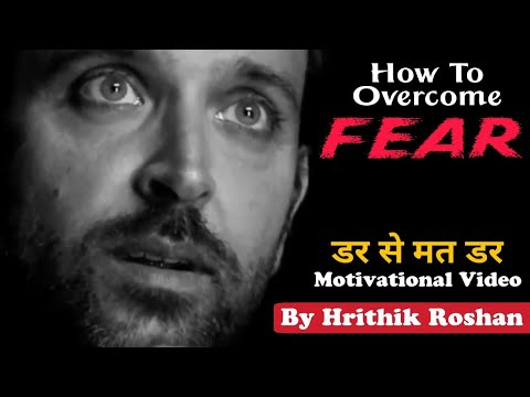 Hrithik Roshan inspires us to overcome fear with his own words | English Subtitles