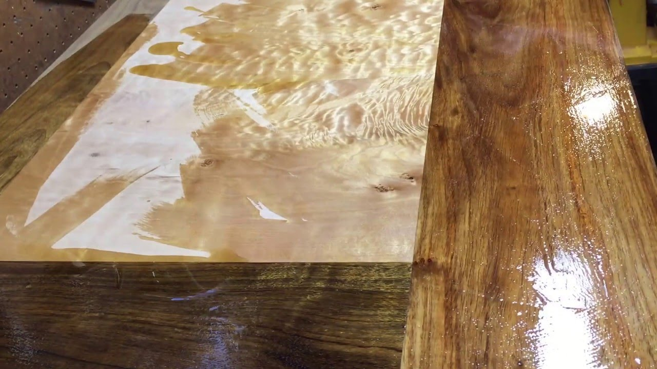 The Magic Of Applying Tung Oil To Quilted Maple And Kiaat