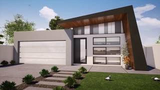 The Crawshaw - 4 Bedroom 2 Bathroom Design For 12.5m Frontage