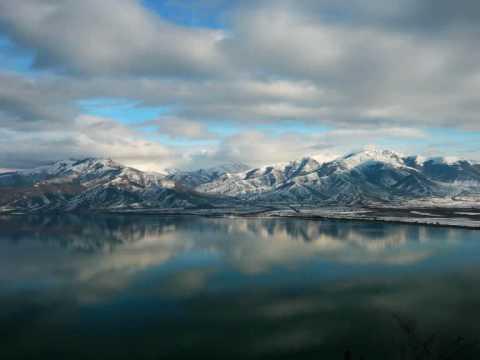 Lake Prespes Πρέσπες. Οι λίμνες των Πρεσπών