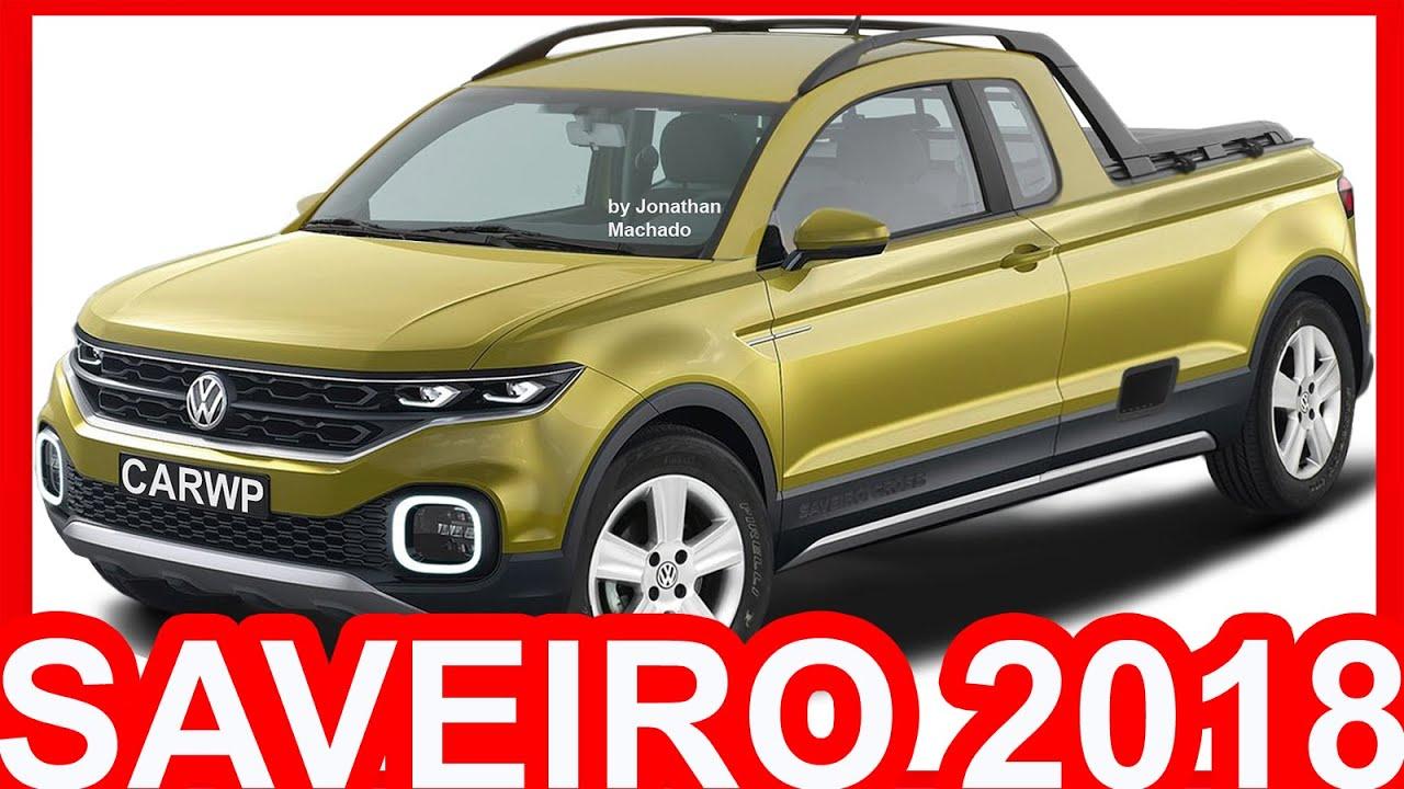 lan amento volkswagen 2018. PHOTOSHOP Nova Volkswagen Saveiro 2018 CE Rival Da Oroch U0026 Fiat Strada X6P TCross Breeze SAVEIRO Lan Amento 8