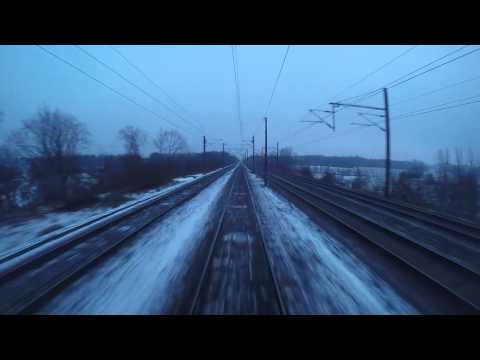 S-toget Høje Taastrup (vendespor) til Farum.
