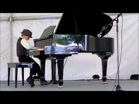 Caleb Plays Jon Schmidt's All of Me at WestFest 2012