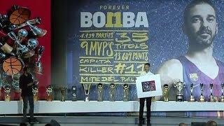 Video FC Barcelona Lassa honors Juan Carlos Navarro -- live! download MP3, 3GP, MP4, WEBM, AVI, FLV September 2018