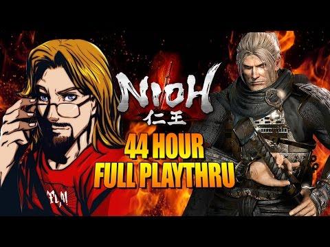MAX'S FULLTHRU - NIOH: 44 Hours All Main/Sub Missions (Playlist)