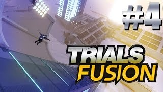 Gold on Big Air Skill Game! Trials Fusion Part 4
