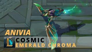 Cosmic Anivia Emerald Chroma - League Of Legends