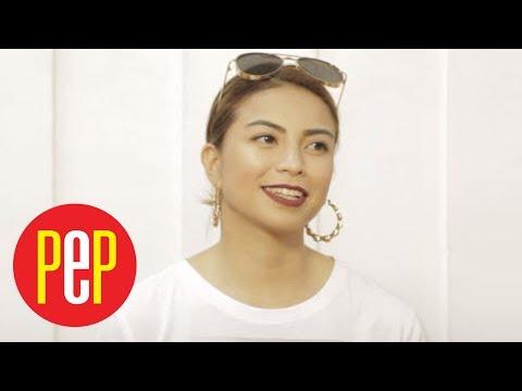 "Glaiza de Castro answers question ""Tomboy ka ba?"" | PEP Challenge"