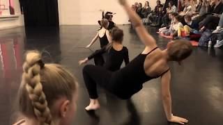 Totem kids 1 class - contemporary dance - teacher Kristina Slobodianiuk