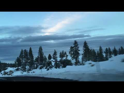Hacker Pass Highway to Lake Tahoe and Carson City California