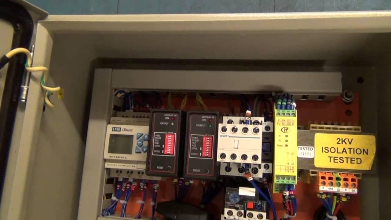HYDRAULIC ROAD BLOCKER ELECTRICAL PANEL  YouTube