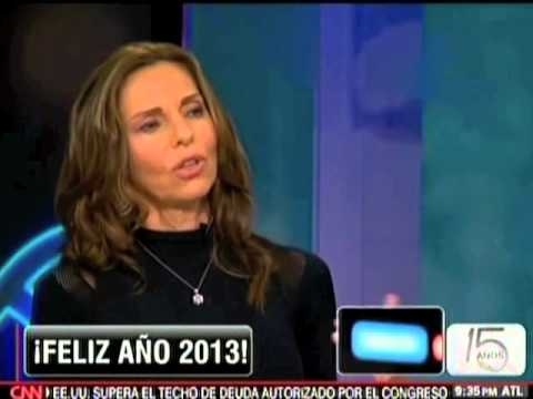 Veronica Vidal interview on the CALA tv show - CNN Espanol