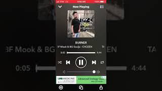 Tay E & BG Soulja - Burner👀🔥 (Chozen And Focused Mixtape - Spinrilla)