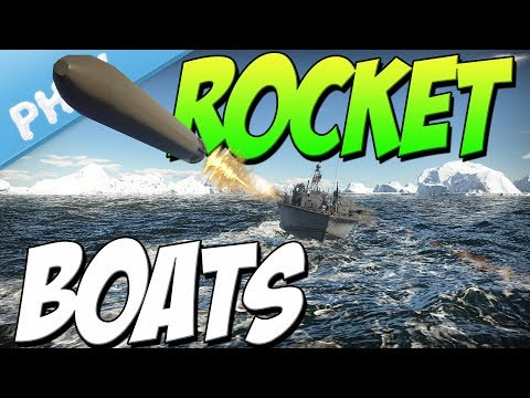ROCKET BOATS - Best PT Weapon (War Thunder Naval Forces Gameplay)