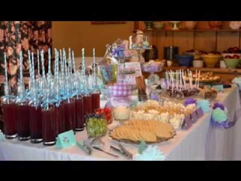 diy baby shower table decorations ideas youtube. Black Bedroom Furniture Sets. Home Design Ideas